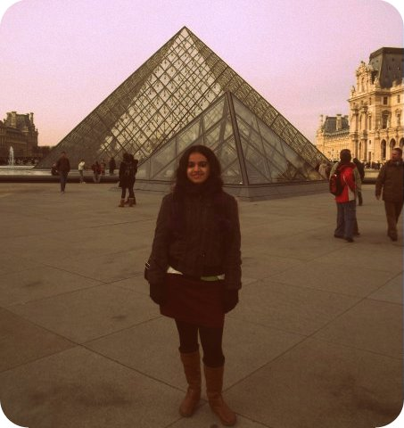 The Louvre, Paris. January 2010